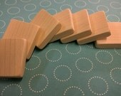 "5/8"" Square Wooden Tiles - lot of 50"