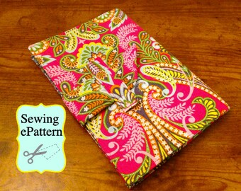 2- PDF Sewing Patterns, Sew Spoiled iPad Air 1, 2, 9.7 Pro Folding Case and Travel case