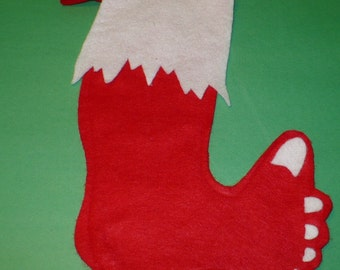 Barefoot Christmas Stocking