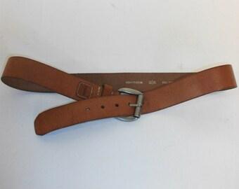 90s Vintage Fossil  Retro Leather belt