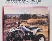 Clymer Polaris ATV Shop Service Repair Manual