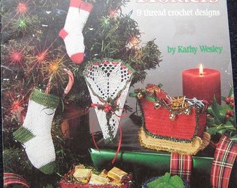 Holiday Holders Christmas Crochet Pattern Book