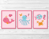 Cute Pink Under the Sea N...