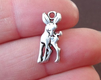 12 Fawn (double sided) Charms 7.5x19x2mm ITEM:AC17