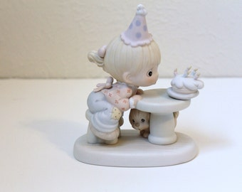 Vintage 'May Your Every Wish Come True' Precious Moments Figurine