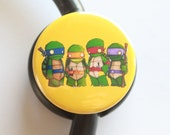 Ninja Turtles----Stethoscope ID Tag