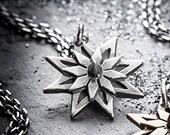 SALE- silver MANDALA