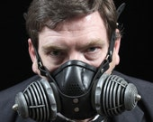 "Steampunk Gas Mask Respirator ""Transmutator"""