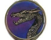 Dragon Compact Mirror Pocket Mirror Large Gifts for her