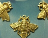 Flight of the Bumble Bee Raw Brass Connectors 314RAW x4