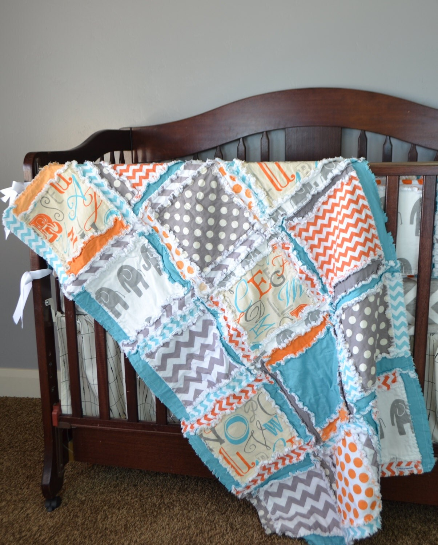 Elephant Crib Sheets : Elephant crib baby bedding for boys gray by avisiontoremember