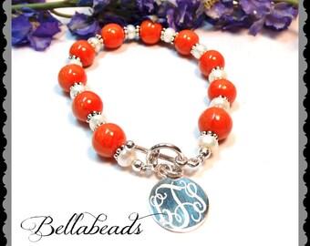 Memorial Beads, Flower Petal Jewelry, Memorial Jewelry, Funeral Flower Jewelry, Memorial Gift Idea, Pearls and Grace Bracelet