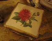 RESERVED 4 JEANIE Vintage Shabby Italy Florentine Box Cottage Chic
