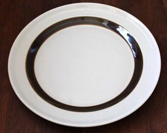 Forma. Vintage Rörstrand of Sweden mid-century modern luncheon plate.