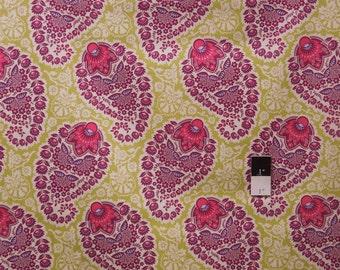 Joel Dewberry JD55 Heirloom Paisley Amethyst Cotton Fabric 1 Yard