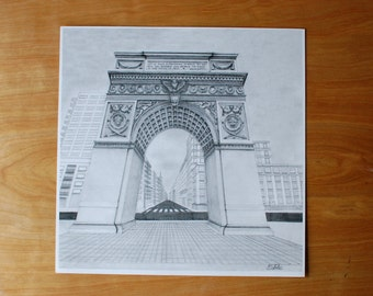 Holiday Sale // Washington Square Arch Print