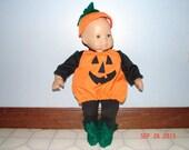 Bitty Baby Pumpkin Halloween Costume