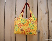 Bright Yellow Blooms or Social Butterfly Mini Sac Shopping Tote Bag Your Choice of One