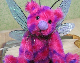 sprite a sweet minature fairy bear OOAK by Melanie Clark - SALE