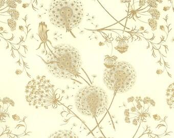 Golden Dandelions Italian Print Paper ~ Rossi Italy  IPR233