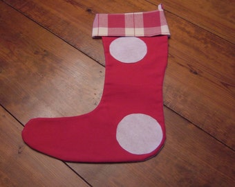 Red Christmas Stocking, ON SALE