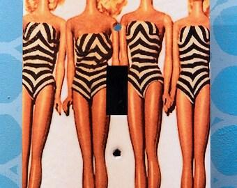 Vintage Barbie Switchplate