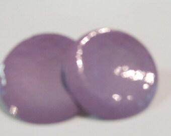 Lavender button post