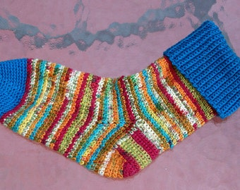 Crocheted Socks - Crochet Pattern