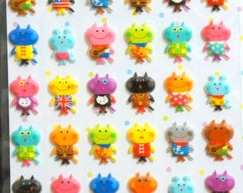 Puffy Animal Stickers  ST1