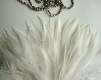 VOGUE COQUE Saddle  Eggshell  with Ivory  Tips / 123 / BESTSELLER