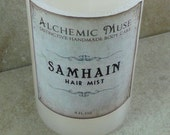 Samhain - Hair Mist - Detangler & Styling Primer - Autumn Air, Roasted Walnut, Sweet Musk