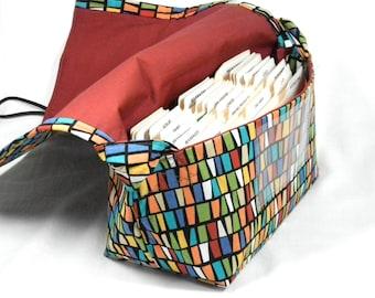Coupon Organizer, Ready to Ship, Mega Large, Coupon Purse, Coupon Bag, Coupon Binder, Autumn Candy Corn