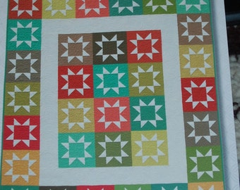 Stash Stars Multi-Size Quilt Pattern ATK-174 by Atkinson Designs-Free US Shipping!
