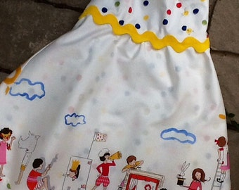 Let's Pretend Double Skirt Girls Sundress etsykids team