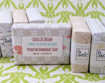 Scents of Oregon, Unique Homemade Soaps in Unusual Fragrances- Choose Any 6