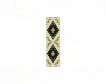 2 Patterns for 1 Price - NA Celtic #2 Cuff and Thin Bracelets - Loom or 1 Drop Odd Peyote Bead Patterns
