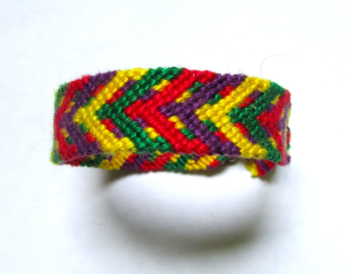 Y-Chevron Handmade Friendship Bracelet