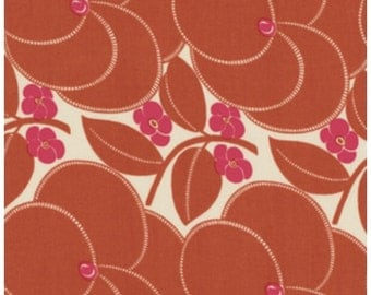 Amy Butler Heart Bloom in Nutmeg for the Hapi Collection