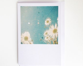 Daydream - Floral Blank Greetings Card for Her