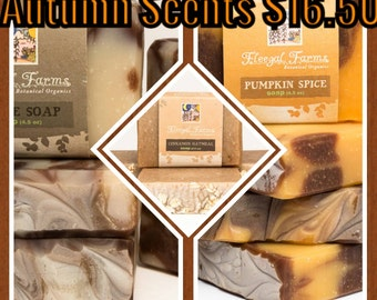 3 Bars of Autumn Inspired Scents