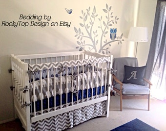 Teething Rail Guards, Bumperless Crib Rail Covers Protectors - Long or Short Crib Side