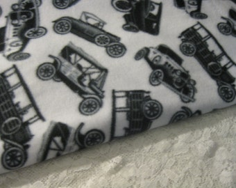 Five Buck Fleece Scarf Blow Out Special! Only at SylMarCreations!  Model T Ford and Other Vintage Cars Winter Fleece Scarf Automobiles