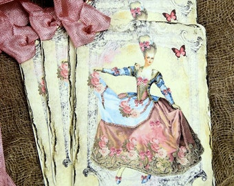 French Marie Antoinette Tags #392