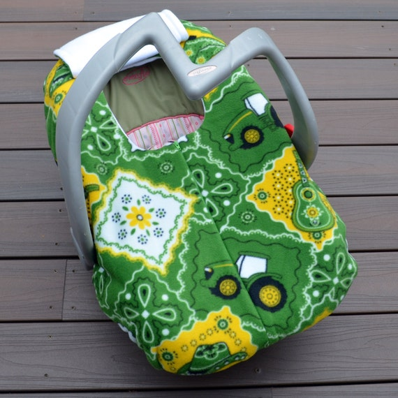 John Deere Car Seat Covers : John deere baby car seat cover interior design