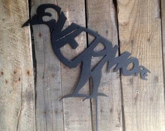 Raven Nevermore Garden stake (R12)