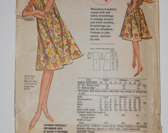 Vintage 60s Dress Pattern McCalls Quaker Oats 4 Size 13 14 15 16 Medium Bust 33 34 35 36