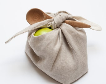 wrapping bag: oatmeal