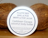 Caribbean Escape Coconut Body Butter . Takes Me The Beach