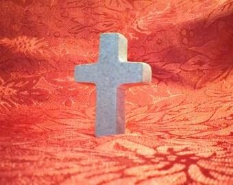 Handmade Virginia Soapstone Cross
