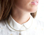 Neck Cuff, choker necklace, wire necklace, open neck cuff, collar necklace // CELESTIAL NECK CUFF